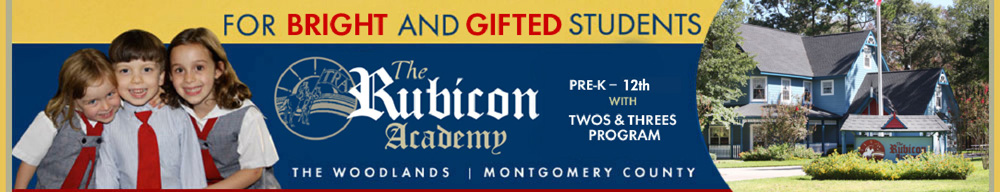 The Rubicon Academy A Gifted and Talented School Located in The Woodlands